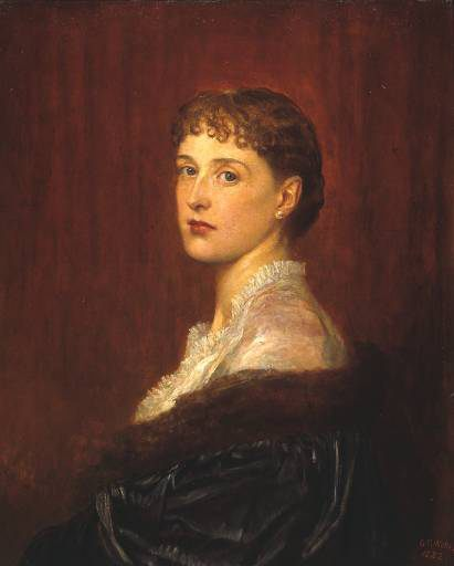 Mrs Arthur Sassoon :: George Frederick Watts - 7 female portraits ( the end of 19 centuries ) in art and painting фото