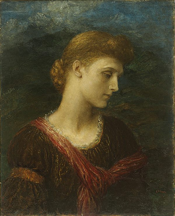 Violet Lindsay :: George Frederick Watts - 7 female portraits ( the end of 19 centuries ) in art and painting фото