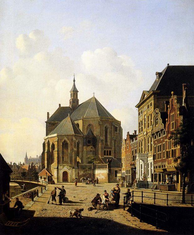 A Capricio View In A Town :: Jan Hendrik Verheijen - Architecture фото