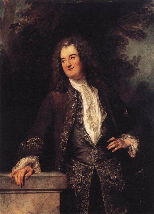 Portrait of a Gentleman :: Jean-Antoine Watteau - men's portraits 18th century ôîòî