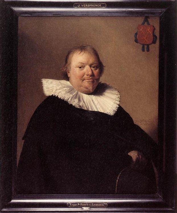 Portrait of Anthonie Charles de Liedekercke :: Johannes Cornelisz. Verspronck - men's portraits 17th century фото