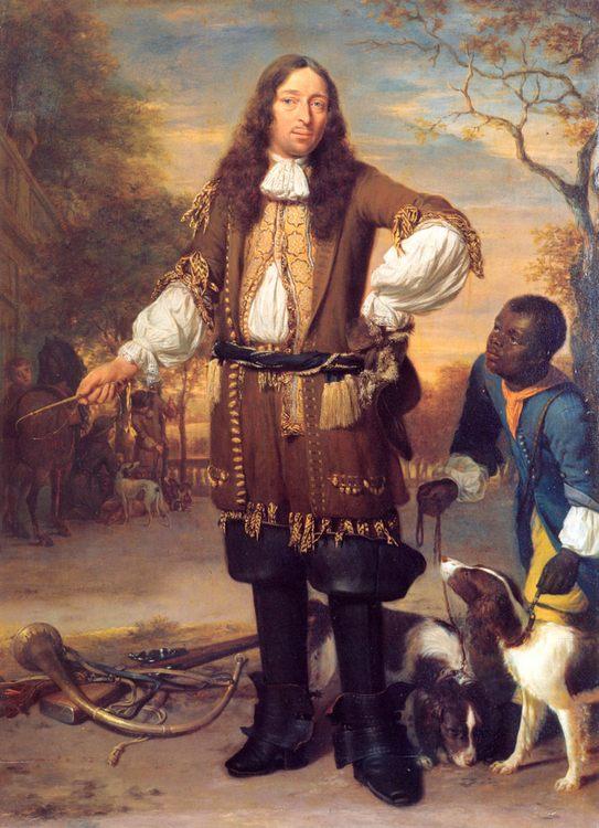 Portrait of Johan de la Faille :: Johannes Verkolje - men's portraits 17th century фото