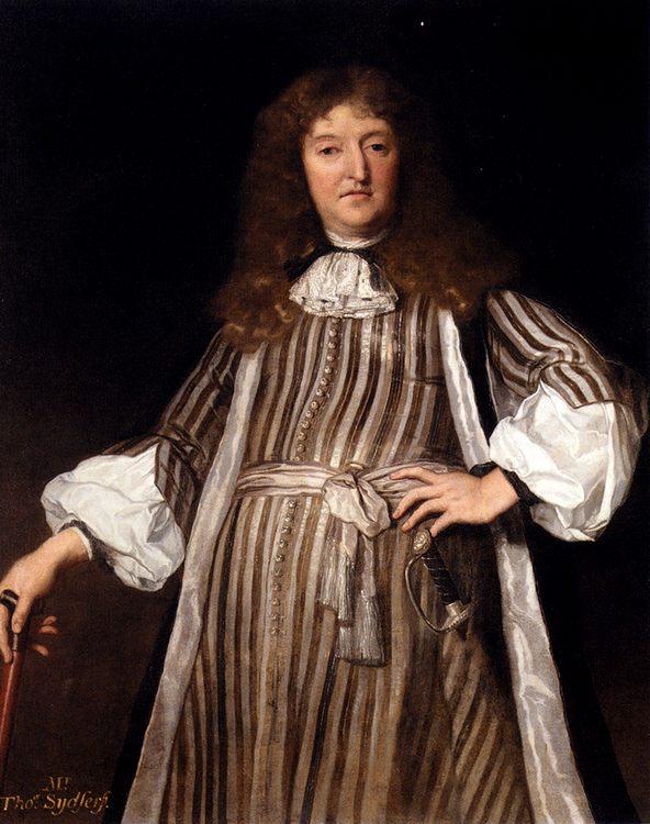 Portrait Of Mr. Thomas Sydserff :: John Michael Wright - men's portraits 17th century фото