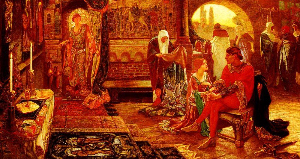 A Romance Of The Sicilian Vespers :: John Riley Wilmer - Antique world scenes ôîòî