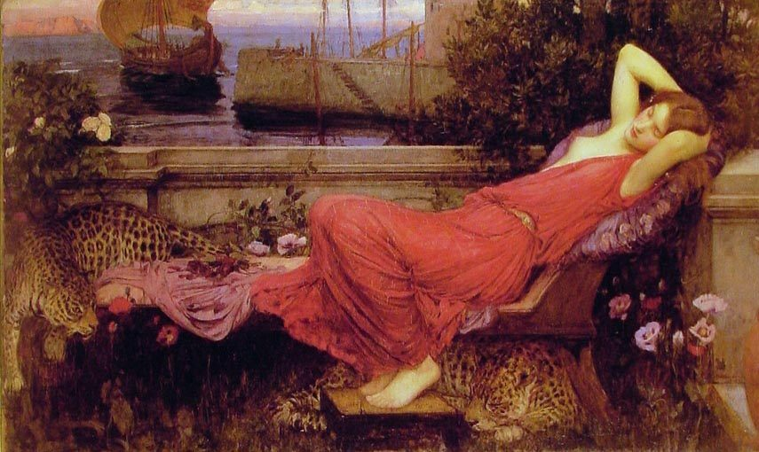 Ariadne :: John William Waterhouse - mythology and poetry фото
