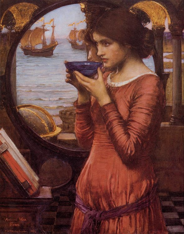 Destiny :: John William Waterhouse - Antique beauties in art and painting фото