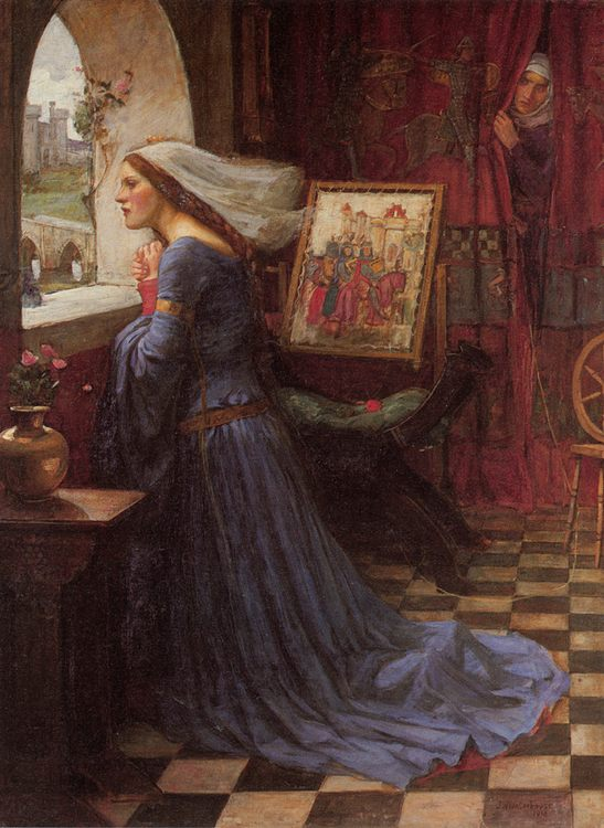 Fair Rosamund :: John William Waterhouse - mythology and poetry ôîòî