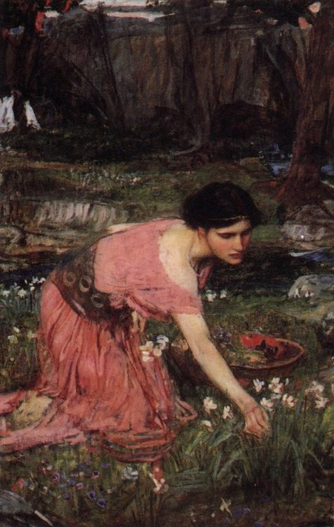Flora :: John William Waterhouse - mythology and poetry ôîòî