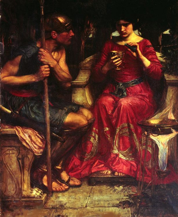 Jason and Medea :: John William Waterhouse - mythology and poetry фото