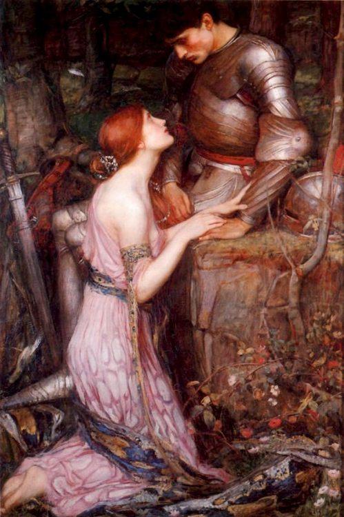 Lamia :: John William Waterhouse - mythology and poetry фото