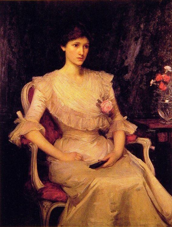 Miss Margaret Henderson :: John William Waterhouse - 8 female portraits hall фото