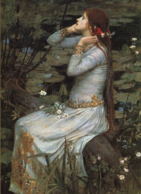 Ophelia :: John William Waterhouse - mythology and poetry фото