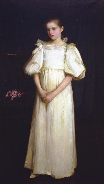 Portrait of Phyllis Waterlo :: John William Waterhouse - Portraits of young girls in art and painting фото