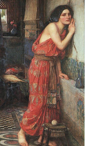 Thisbe :: John William Waterhouse - mythology and poetry фото