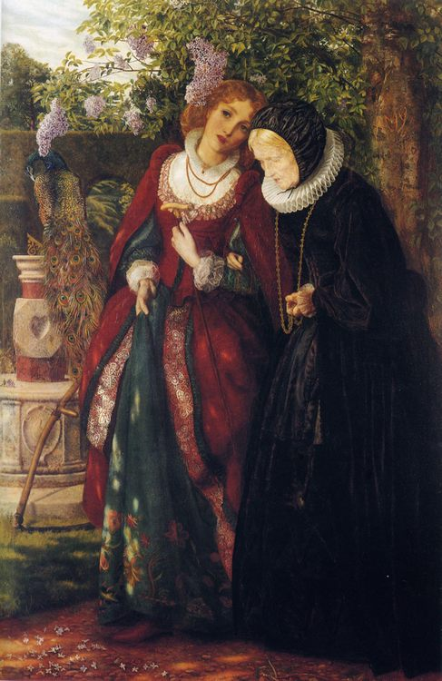 Silver and Gold :: Arthur Hughes - 7 female portraits ( the end of 19 centuries ) in art and painting ôîòî