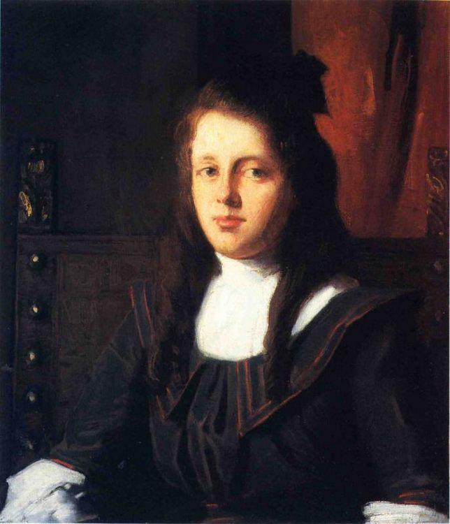 Cora :: Julian Alden Weir - 8 female portraits hall фото