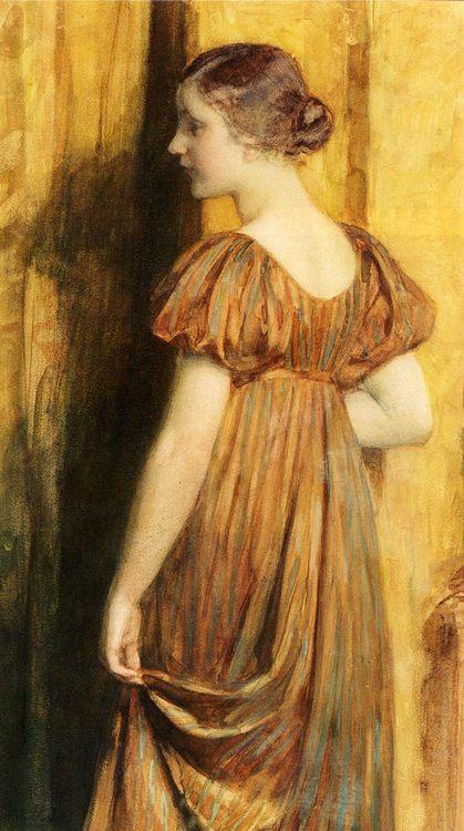 An Elegant Lady :: Nicolaas Van Der Waay - Young beauties portraits in art and painting фото