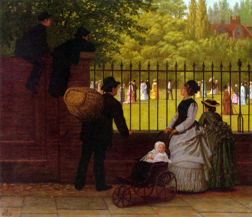 The Croquet Game :: Ormsby Wood - Picnic ôîòî