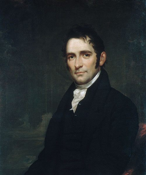 The Reverend John Brodhead Romeyn :: Samuel Lovett Waldo - men's portraits 19th century (first half) ôîòî