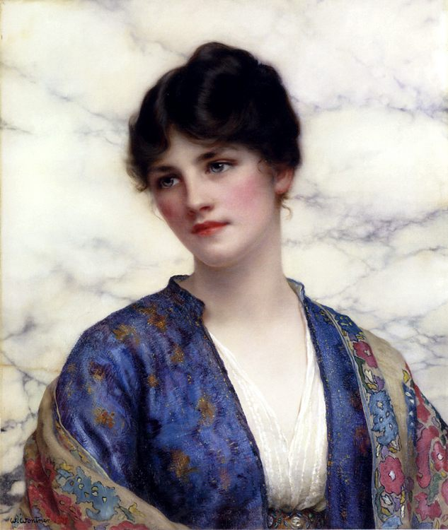 Valeria :: William Clarke Wontner - Young beauties portraits in art and painting ôîòî