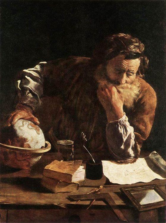 Portrait of a Scholar :: Domenico Feti - men's portraits 16th century фото