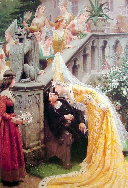 Alain Chartier :: Edmund Blair Leighton - Romantic scenes in art and painting ôîòî