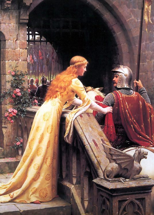 God Speed! :: Edmund Blair Leighton - Antique world scenes фото