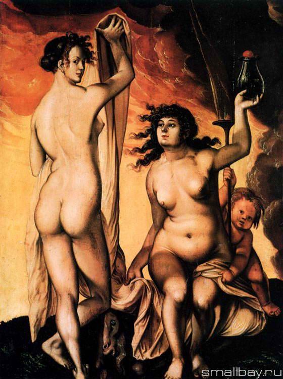 Two witches, 1523 :: Hans Baldung - user art painting gallery ôîòî