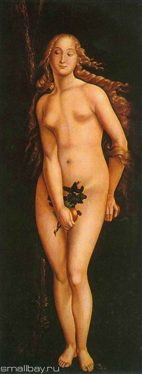 Pictures and Biography of Hans Baldung Green - Eve, 1524 Museum of Fine Arts, Budapest