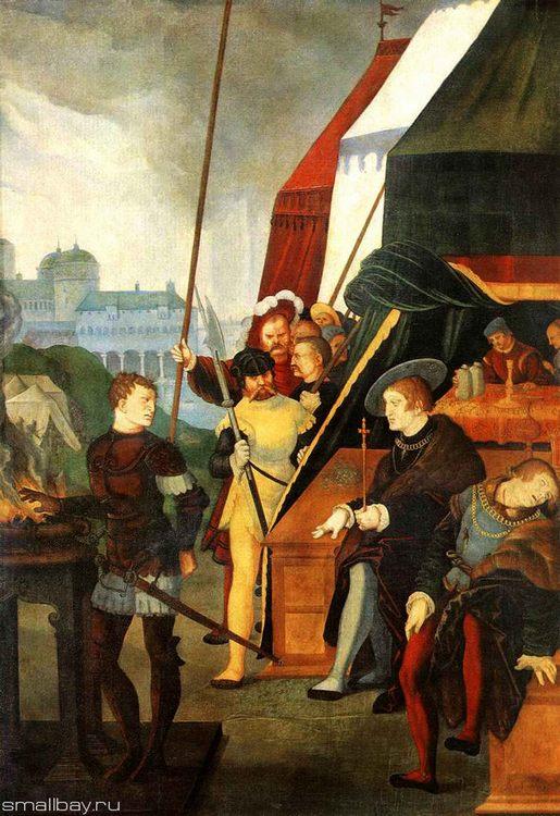 Muzio Scaevola 1531 :: Hans Baldung - user art painting gallery ôîòî