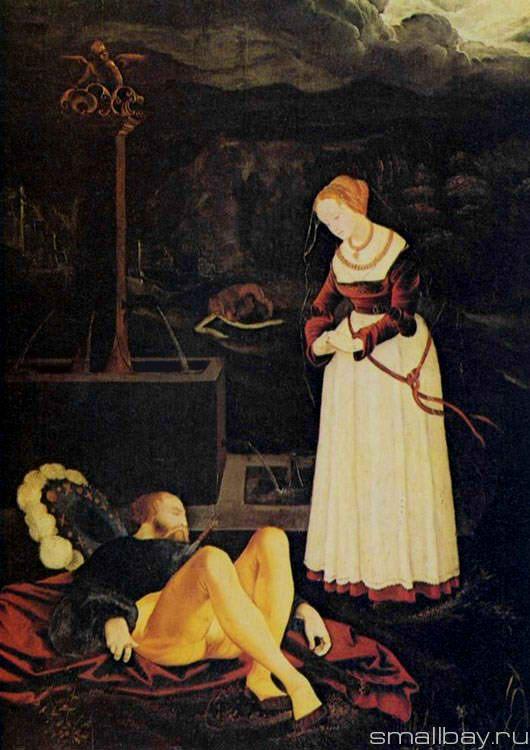 Pyramus and Thisbe 1531 :: Hans Baldung - user art painting gallery ôîòî