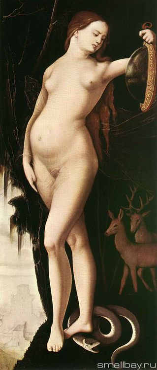 Allegory of Vanity 1529 :: Hans Baldung - user art painting gallery ôîòî