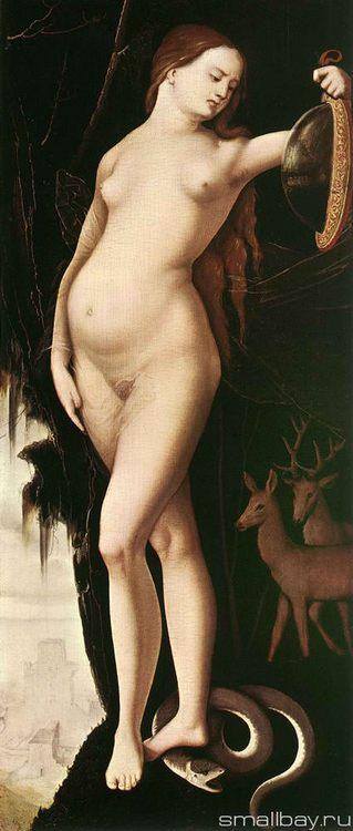 Allegory of Vanity 1529 :: Hans Baldung - user art painting gallery фото