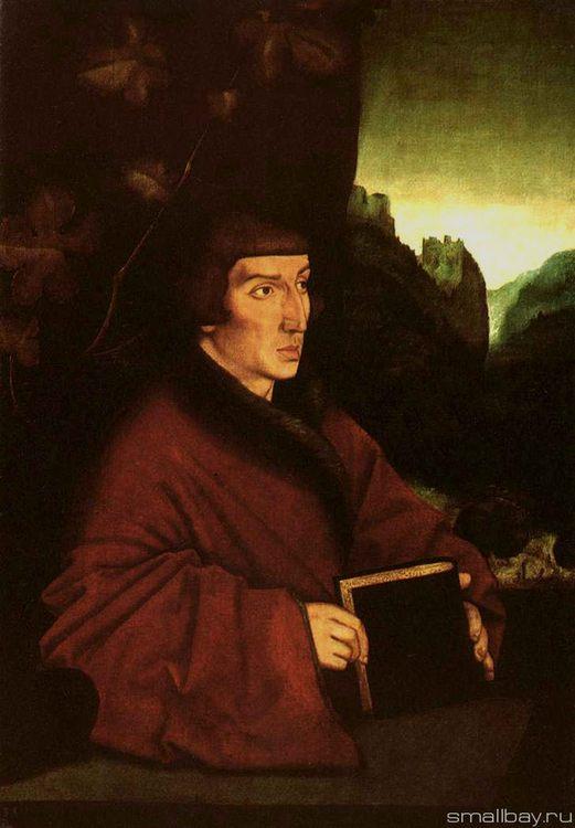 Portrait of Keller 1538 :: Hans Baldung - user art painting gallery фото