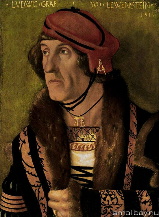 Portrait of Count Ludwig Loewenstein, 1513 :: Hans Baldung - men's portraits 16th century фото