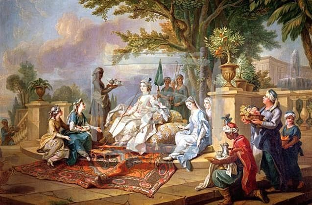 Scenes of Harem Life in West European Painting