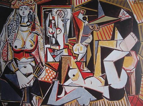 "Pablo Picasso. ""Algerian Women."" 1955. Ganz Collection, New York."