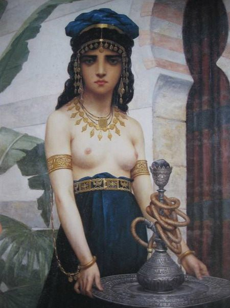 "Paul-Desire Trouillebert. ""The Harem Servant"". 1874. Museum of Fine Arts, Nice"
