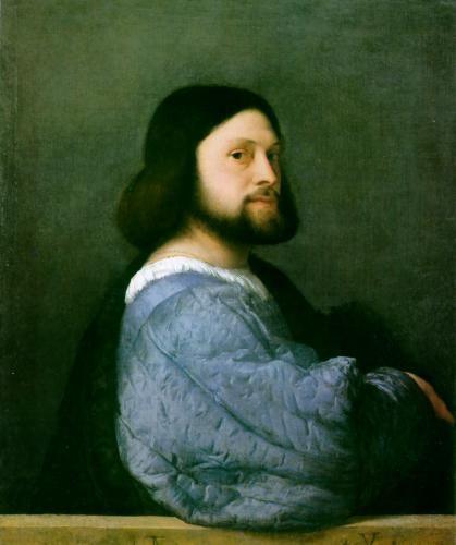 Ariosto's portrait - men's portraits 16th century фото