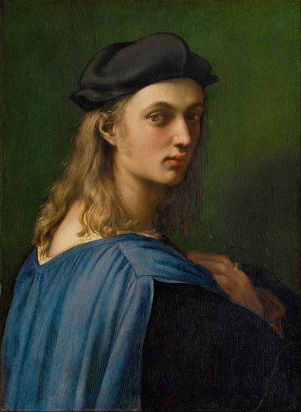 Portrait of Bindo Altoviti - men's portraits 16th century фото