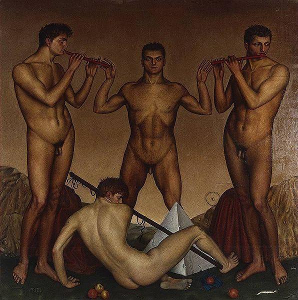 The musicians - nude men ôîòî