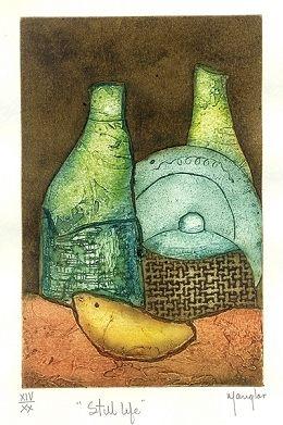 Ramon Rodriguez (Manglar) painting Still Life