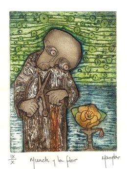 Ramon Rodriguez (Manglar) painting