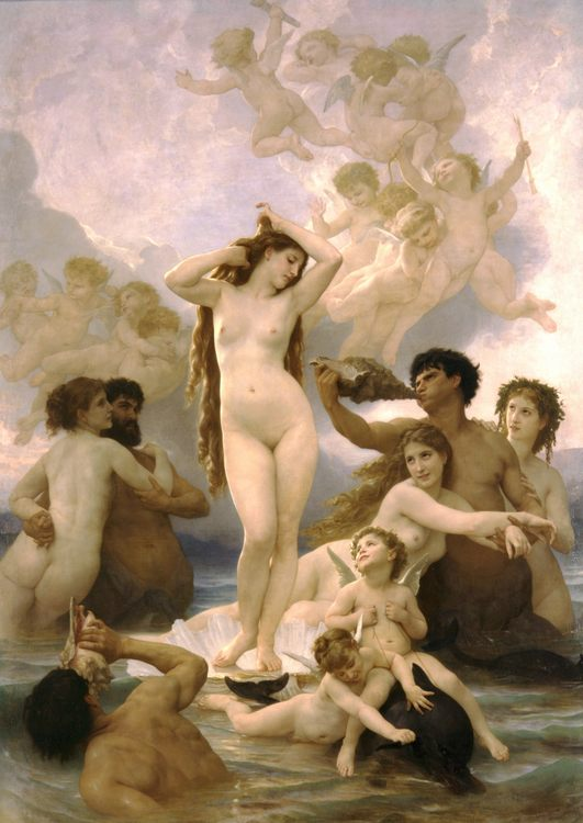 Venus in european and christian art