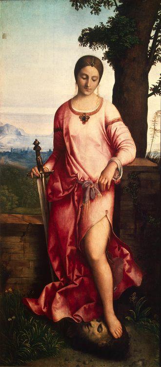 Judith - art and paiting