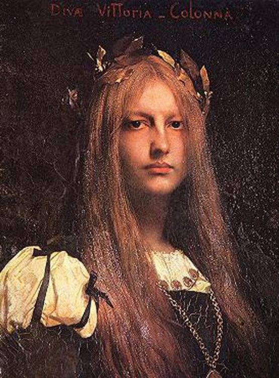 Vittoria Colonna :: Jules Joseph Lefebvre - 7 female portraits ( the end of 19 centuries ) in art and painting фото