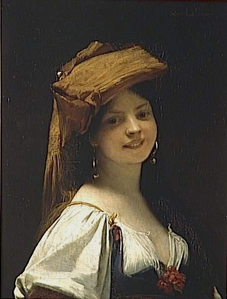 The young laughing :: Jules Joseph Lefebvre - 7 female portraits ( the end of 19 centuries ) in art and painting фото