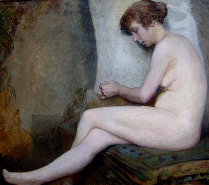 Susanne :: Jules Joseph Lefebvre - Nu in art and painting фото