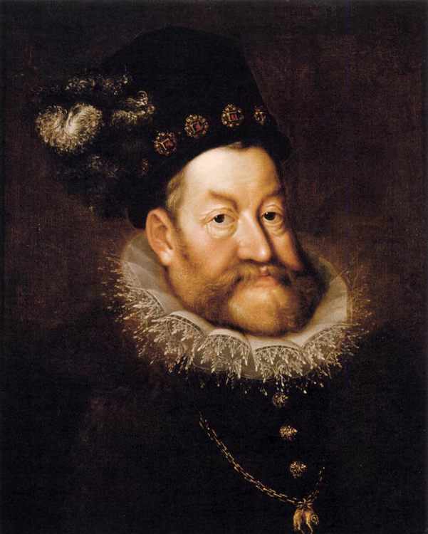 Portrait of Emperor Rudolf II :: AACHEN, Hans von - men's portraits 16th century фото