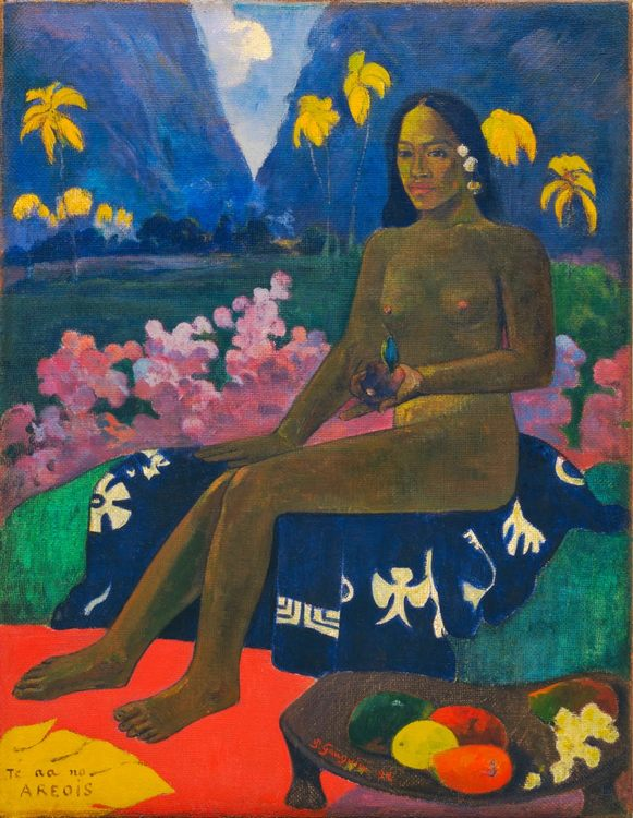 Te Aa No Areois :: Paul Gauguin, description of a picture - Nu in art and painting фото